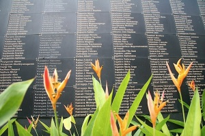 Genocide Memorial - There was a life behind every name